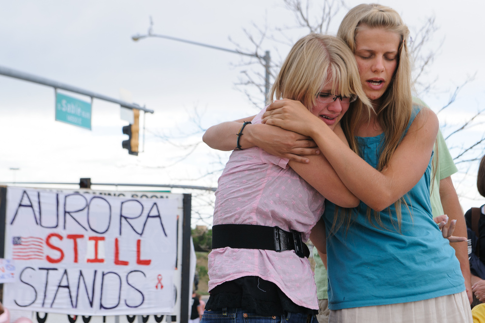 Aurora shooting rampage mourning