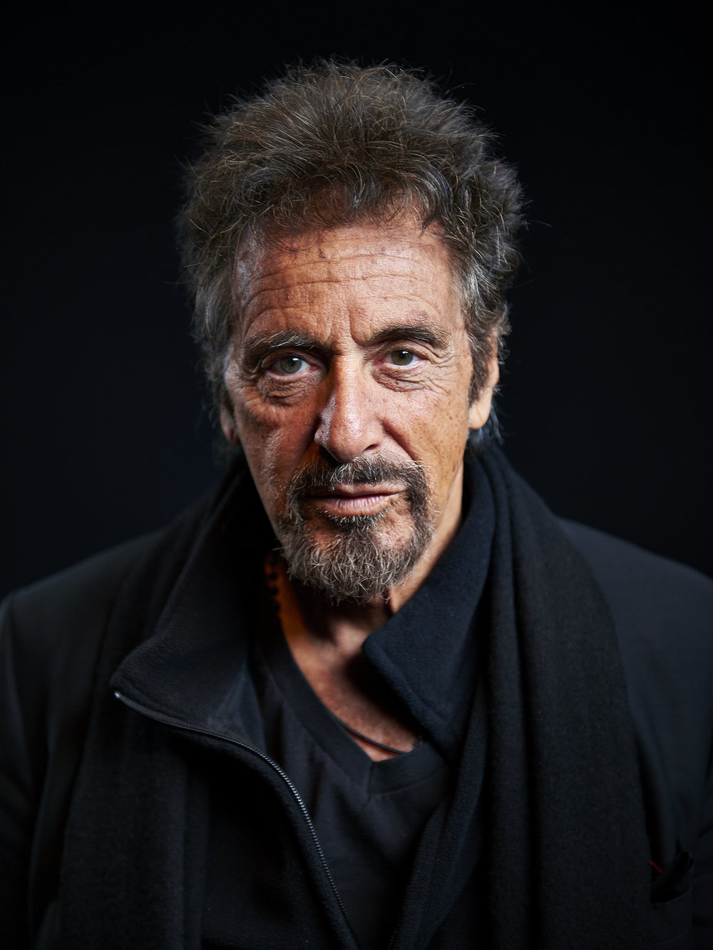 "Portrait of actor Al Pacino at the 21 Club on Thursday, Nov. 20, 2014 in New York, N.Y. Pacino stars in the upcoming movie ""The Humbling"" which is directed by Barry Levinson."