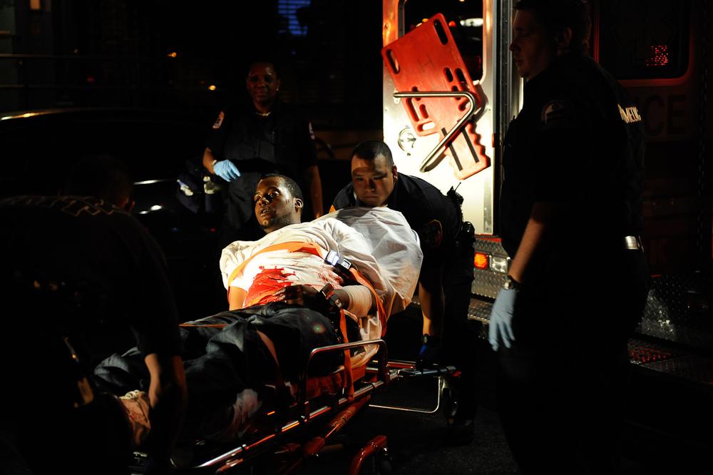 Lower East Side stabbing victim