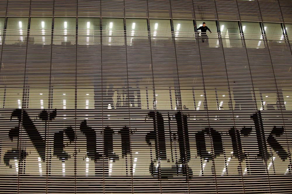 New York Times building climber
