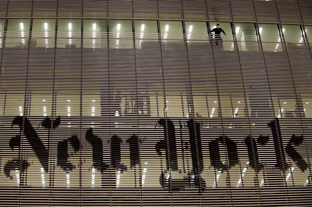 New York Times building climber