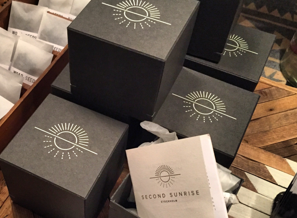 second sunrise   branding, packaging -
