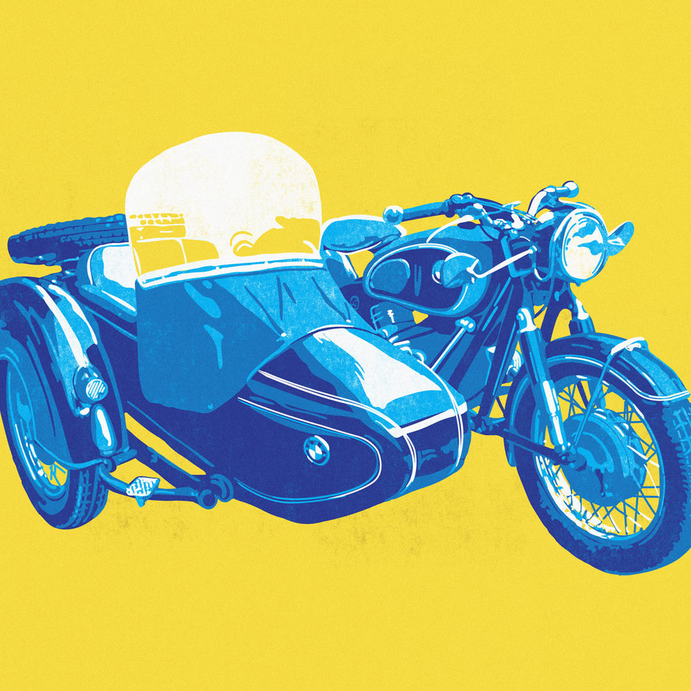 bmw illustration  shop prints -