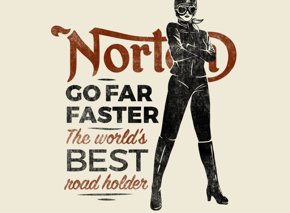 norton clothing  tshirt series -