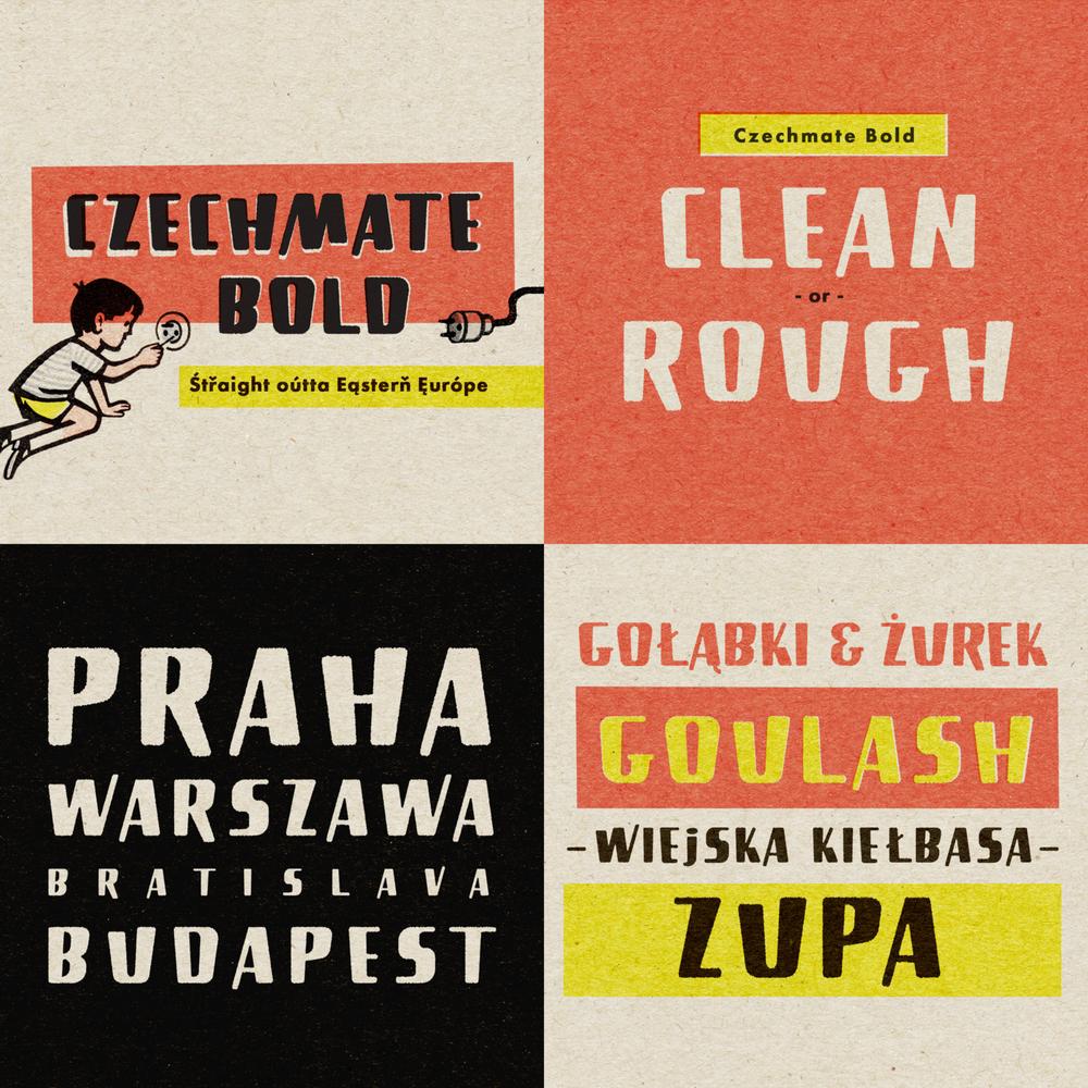 czechmate bold font buy -