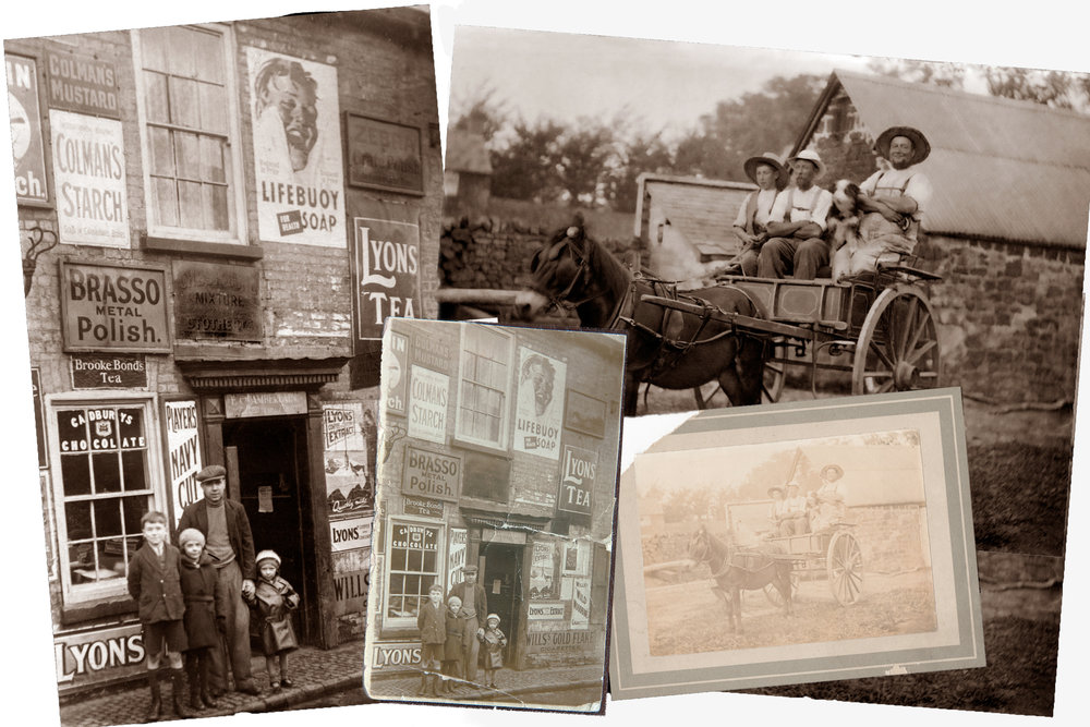 printing restoring own old photos restoration recovery old image shop