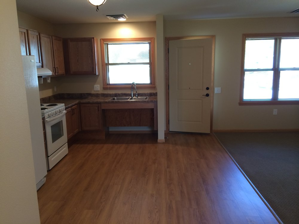 Handicapped Accessible Unit - Kitchen