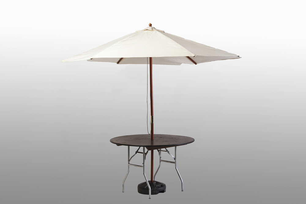 4ft Umbrella Table