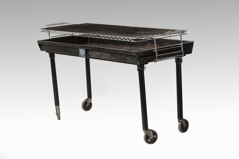 2x5 Charcoal Grill