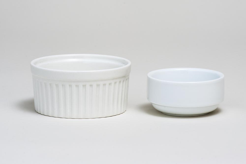 White Ramekins