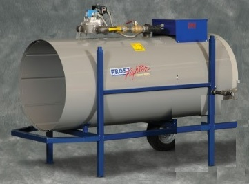 1.5 Million BTU heater for industrial applications