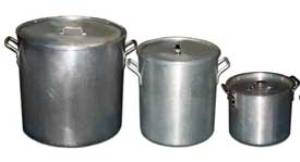 Stock Pot 80 Qt $24.00 60 Qt $22.00 40 Qt $20.00