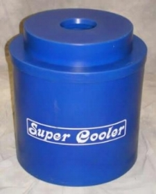 "Super Cooler Capicity is one Keg or ""Half-Barrel"" of beer $25.00"
