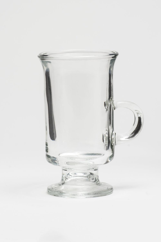 "Irish Coffee Mug 6.5 oz. Height 5 2/8 Width 3"" $0.65"