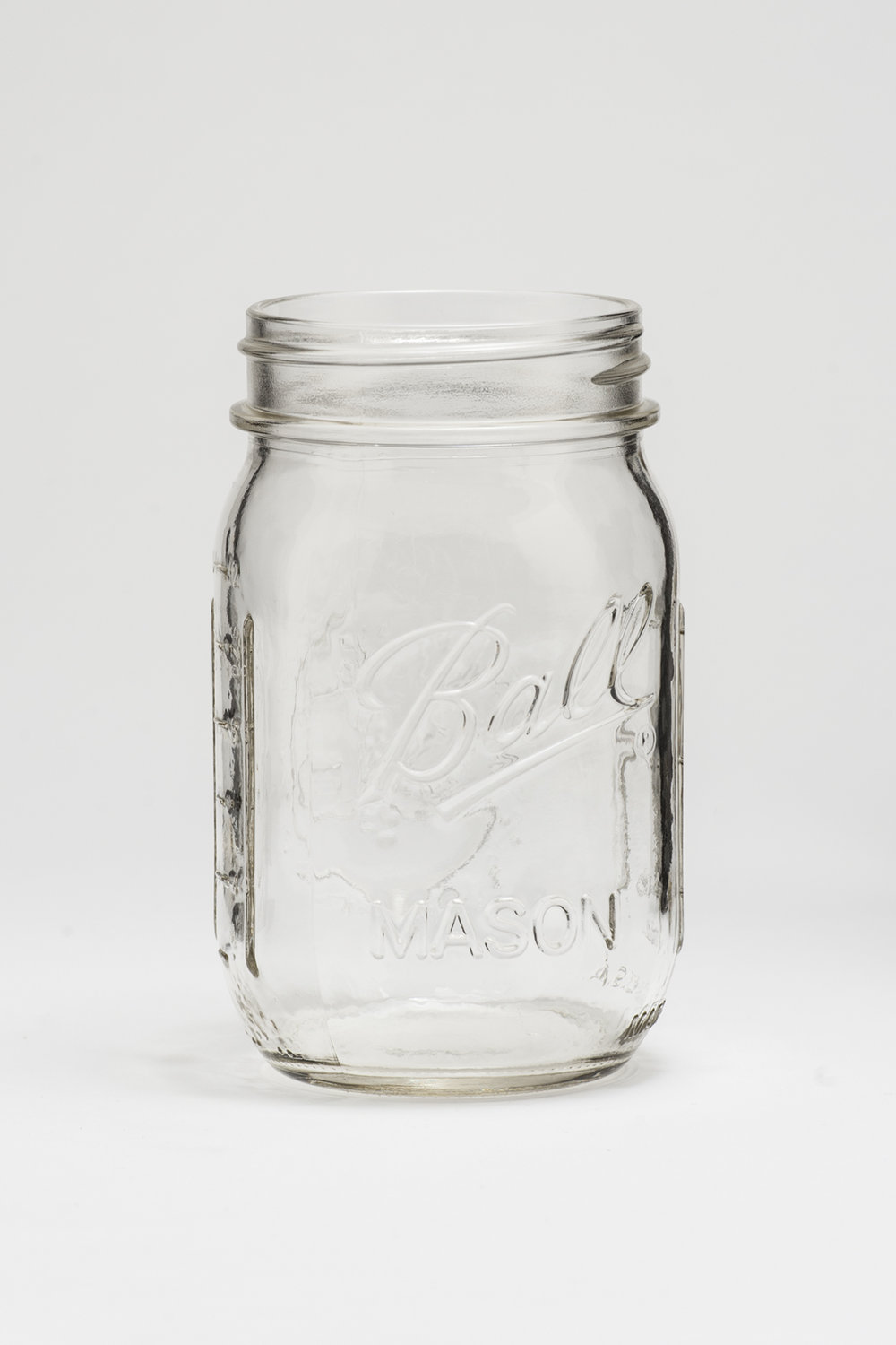 Mason Jar Glass 16 oz. $0.65