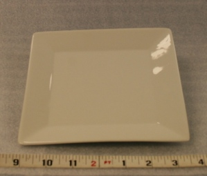 "Square Bread and Butter Plate 7"" $0.85"