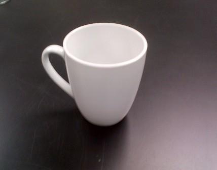 White Mug $0.70