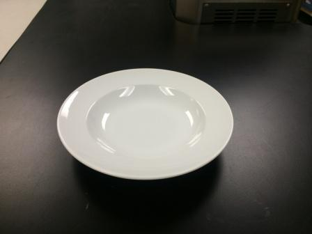 White Elegance Soup Plate   $0.70