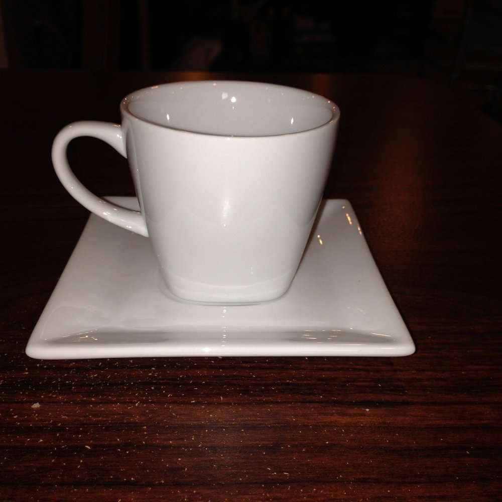 Square Cup and Saucer $0.85 each