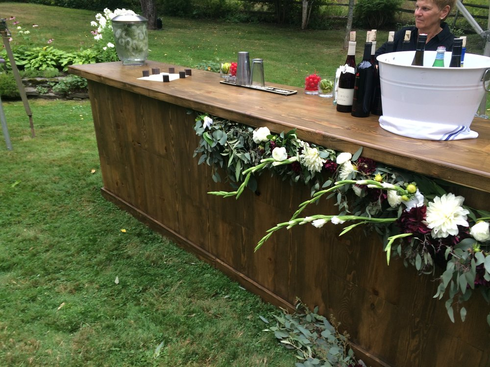 Wood Plank, Walnut 10' Bar   $350.00
