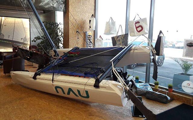Vous pourrez retrouver le #NAU dans le #Finistère, chez Yucca Voiles, une #voilerie de #Brest !  Si vous voulez tester le bateau dans le Finistère, il vous suffit de les contacter !  YUCCA VOILES  02 98 80 14 00  contact@yucca-voiles.com  www.yucca-voiles.com  #Bretagne #PassezALOuest #finisteretourisme #bretagnetourisme #catamaran #sail #sails #bateau #voile #voilemagazine #voileetvoilier #innovation #startup #bateau #mer #sea #boat
