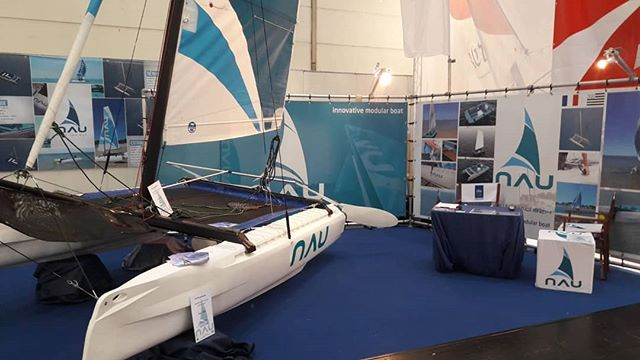 @bootduesseldorf  You could find NAU at : Hall 15 / G42  You can take appointment: louis.cottin@nau.bzh  NAU is  an innovative catamaran 13 feet Practical and easily dismantled, it has a patented tool free attachment system. Robust, stable and suitable for all age levels and standards, in leisure or racing, the Nau catamaran is among the most rigid in its class.  #catamaran #nau #13feet #bretagne #france #allemagne #germany #salon #sail #sailing #boatshow #voile #voilemagazine #voileetvoilier #innovation #startup #business #bateau #mer #sea #boat