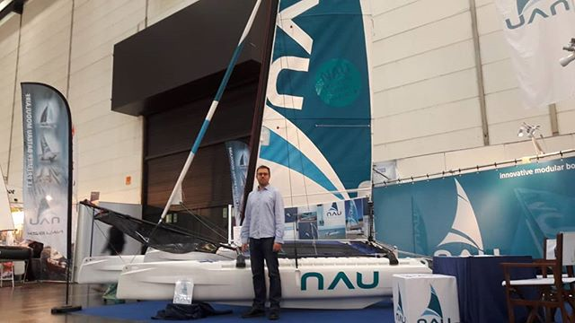 @bootduesseldorf  You can find NAU at : Hall 15 / G42  You can take an appointment: louis.cottin@nau.bzh  NAU is  an innovative 13 feet catamaran Practical and easily dismantled, it has a patented tool free attachment system. Robust, stable and suitable for all age levels and standards, in leisure or racing, the Nau catamaran is among the most rigid in its class.  #catamaran #nau #13feet #bretagne #france #allemagne #germany #salon #sail #sailing #boatshow #voile #voilemagazine #voileetvoilier #innovation #startup #business #bateau #mer #sea #boat