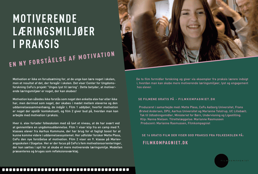 DOWNLOAD EN PDF OG SE MODEL FOR MOTIVATIONSORIENTERINGER KLIK PÅ BILLEDET