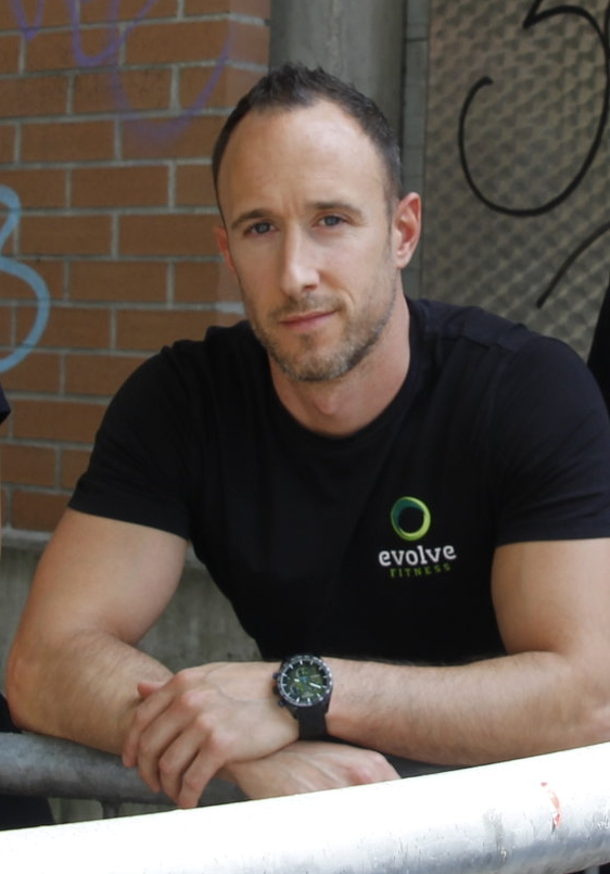 Simon Conway- Owner of Evolve Fitness in Munich