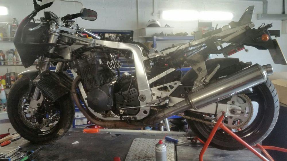GSXR 1100M Engine serviced.jpeg