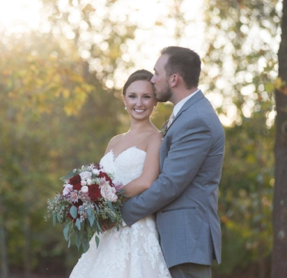 Bride and Groom - Griffin and Kristen Sepp                     Photography - Amberlee Christey Photography                                               October 7, 2017