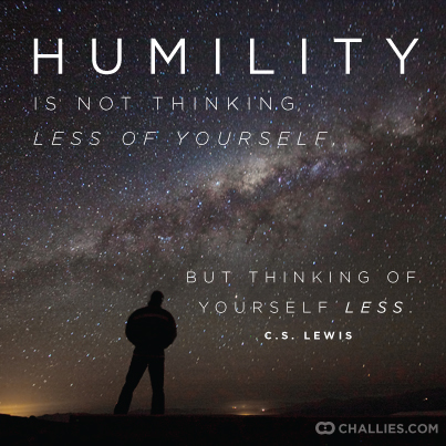 Humility is to define yourself by your interior. Humility is the Key Ingredient- EC Stevens