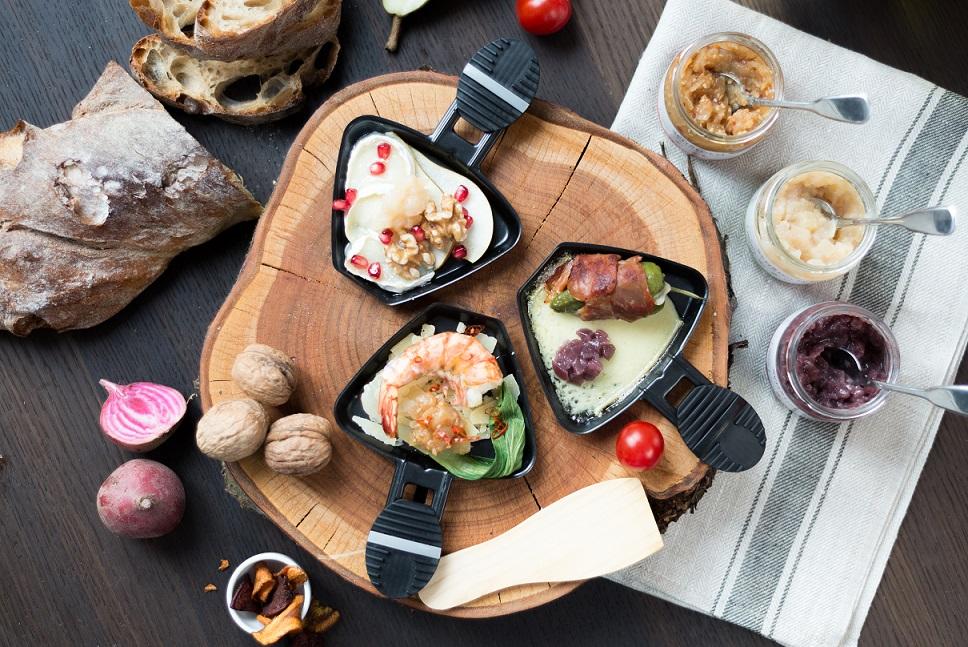 Raclette Zwiebelconfit