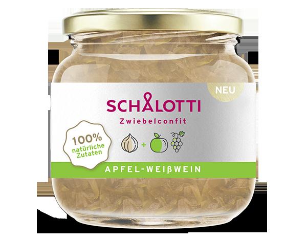Schalotti Apfel Weisswein