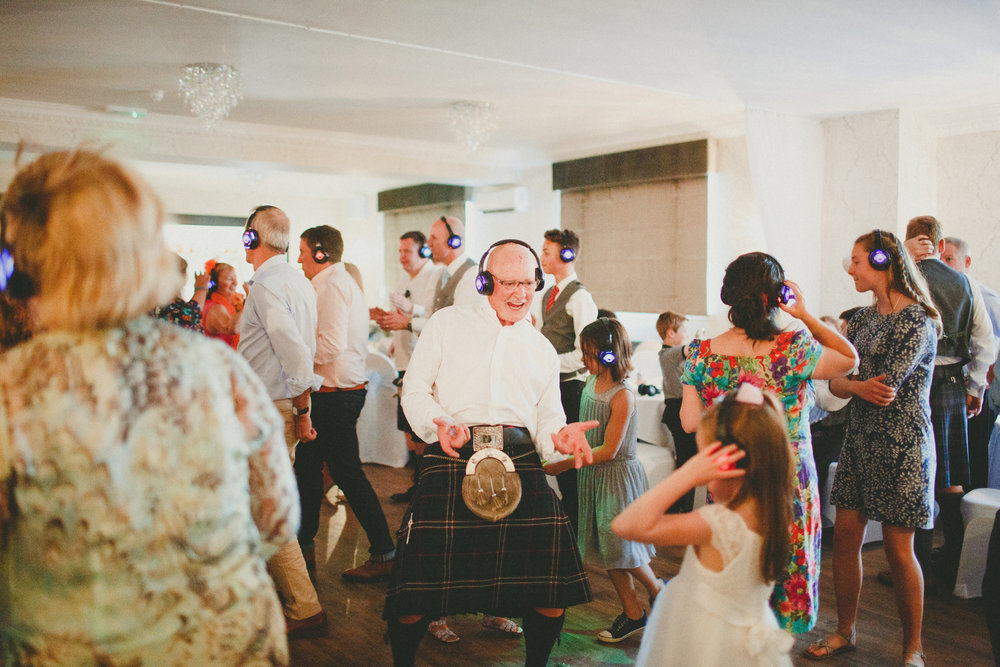 Silent Disco - Fun for all ages at your wedding!