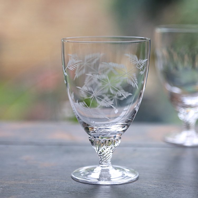 FERNS: Set of 6  Bistro Wine Glasses