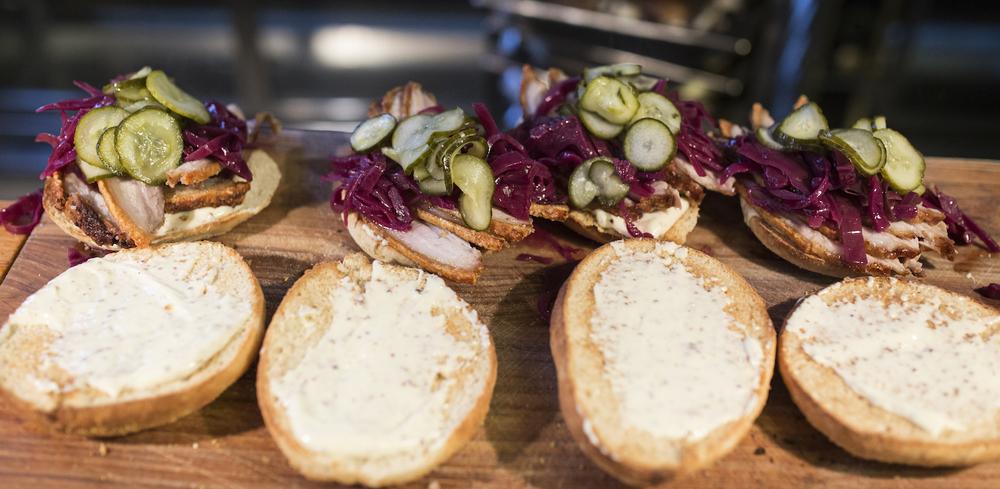 Velkommen til sandwichværkstedet!