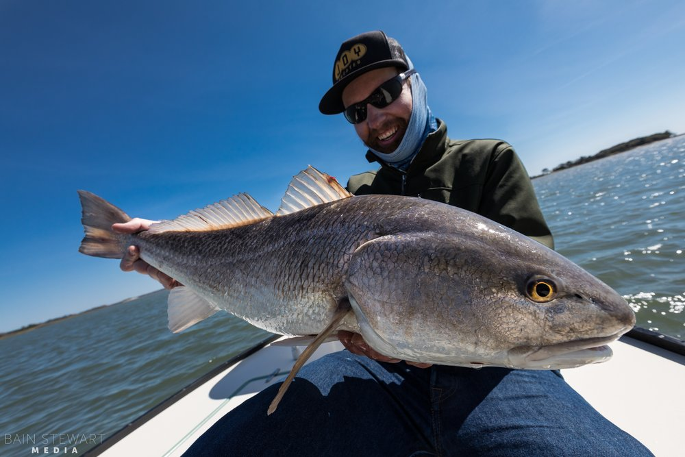 Andrew Lincoln with a great  Redfish on Fly