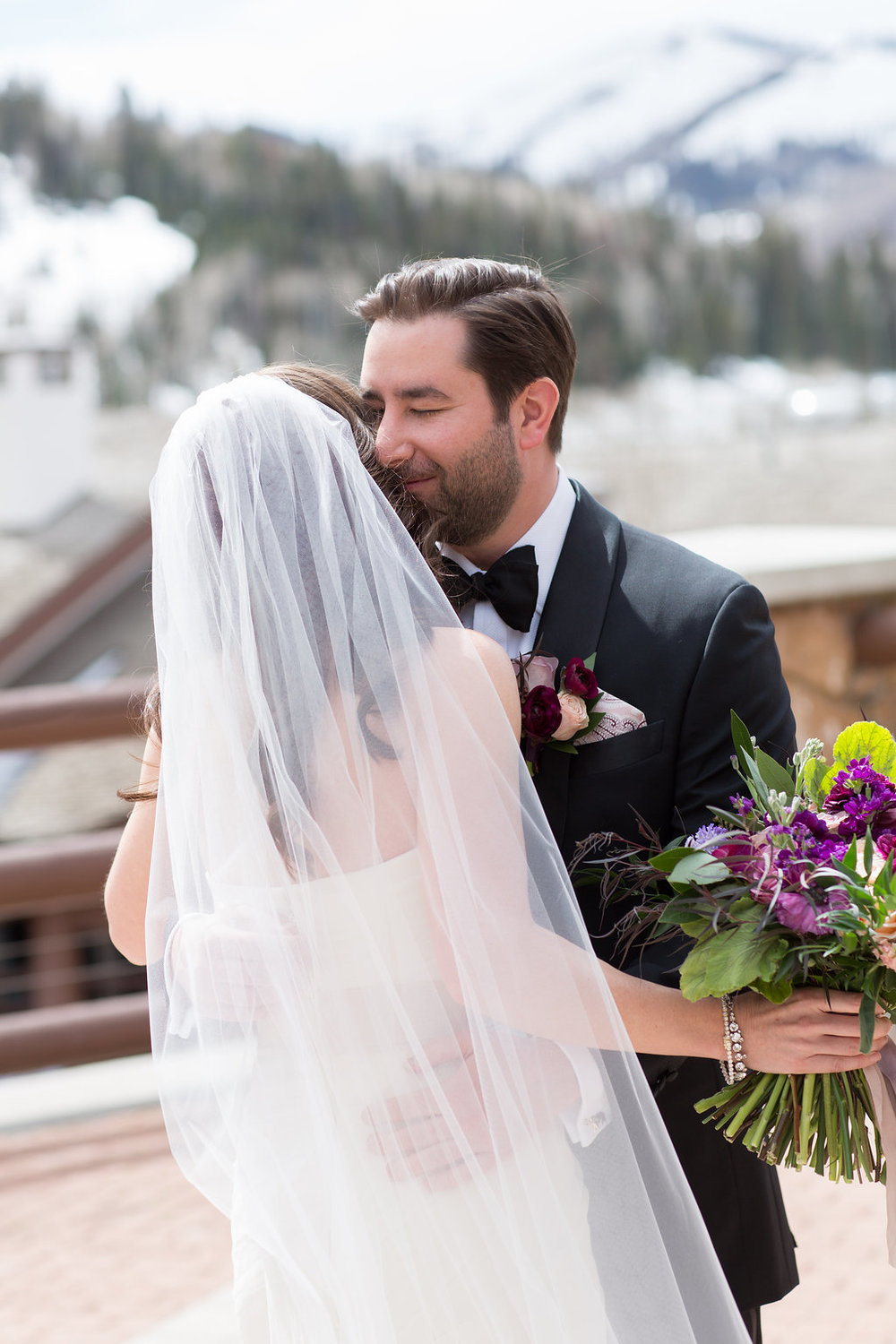 Stein Eriksen Lodge Wedding in Park City Utah | Michelle Leo Events | Utah Wedding Planning and Event Design | Patricia Lyons Photography
