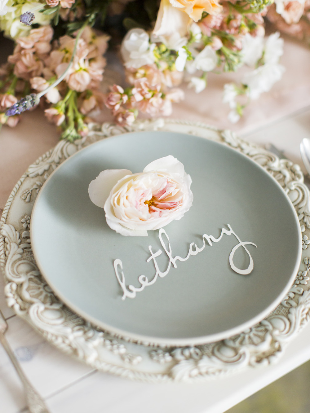 Monet Inspired Wedding Details | Utah Wedding Design by Michelle Leo Events | Jessica Peterson Photography