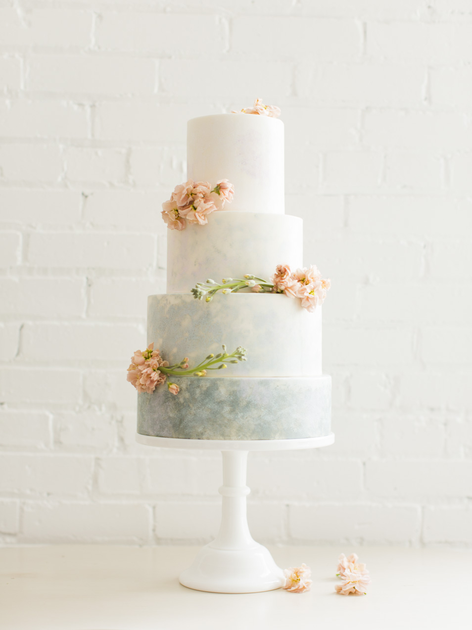 Monet Inspired Wedding Cake | Michelle Leo Events