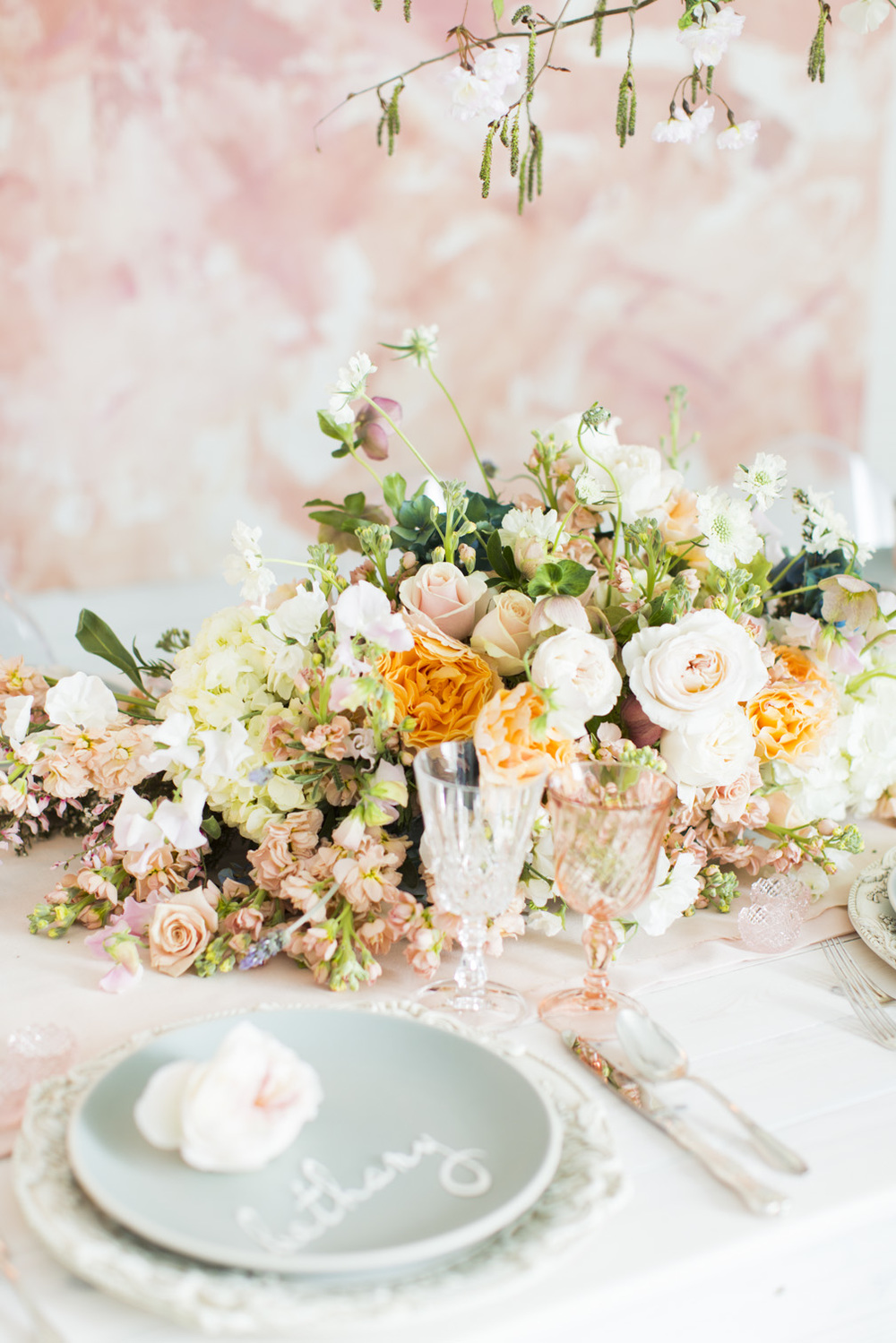 Monet Inspired Wedding Details | Michelle Leo Events