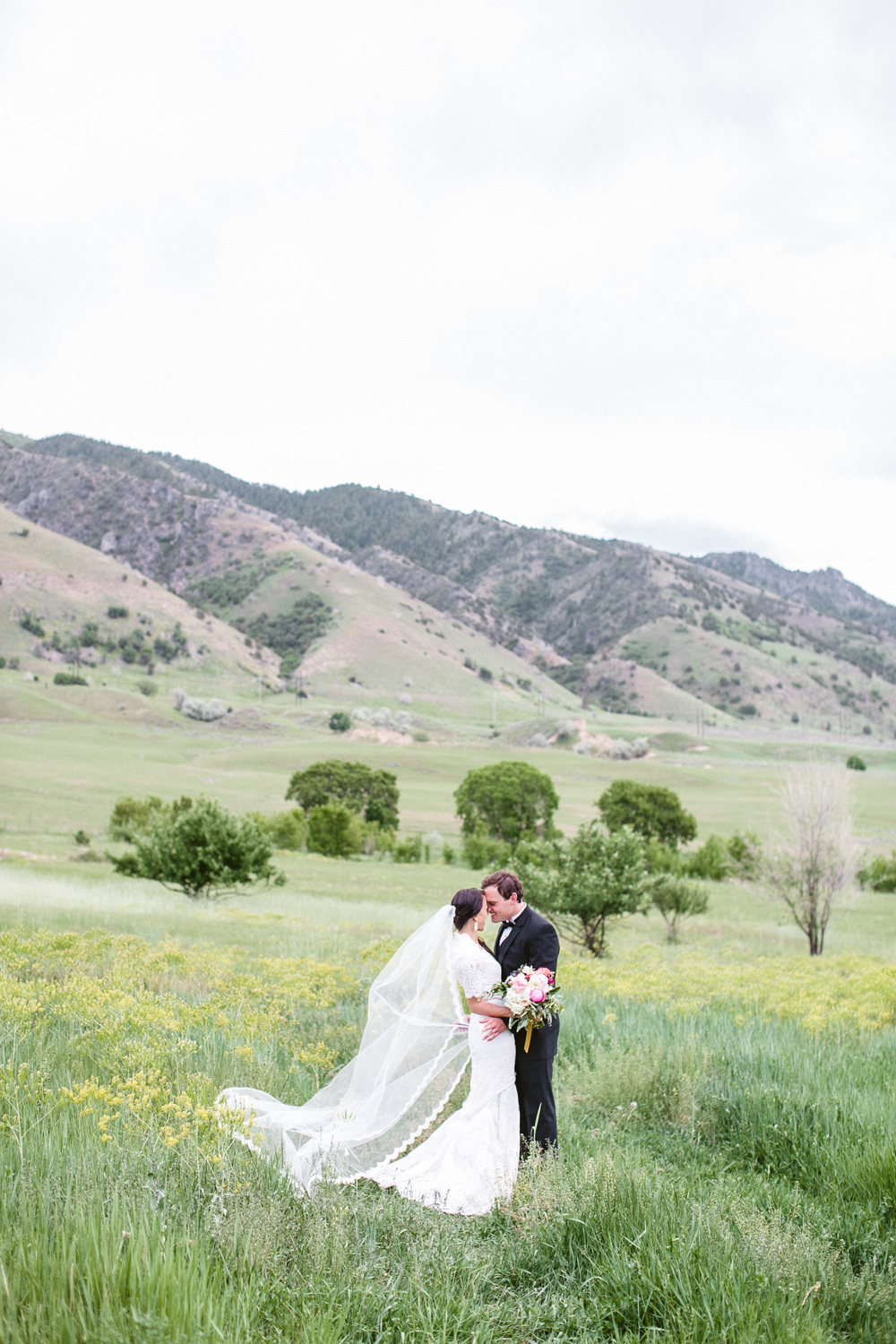 Logan Utah Real Wedding Designed and Planned by Michelle Leo Events | Jasmine Star