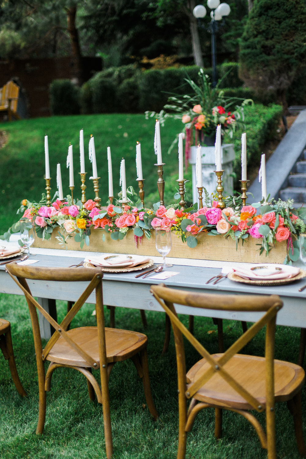 Jacque Lynn Photography | English Garden Wedding Inspiration | Michelle Leo Events | Utah Wedding Design and Planning