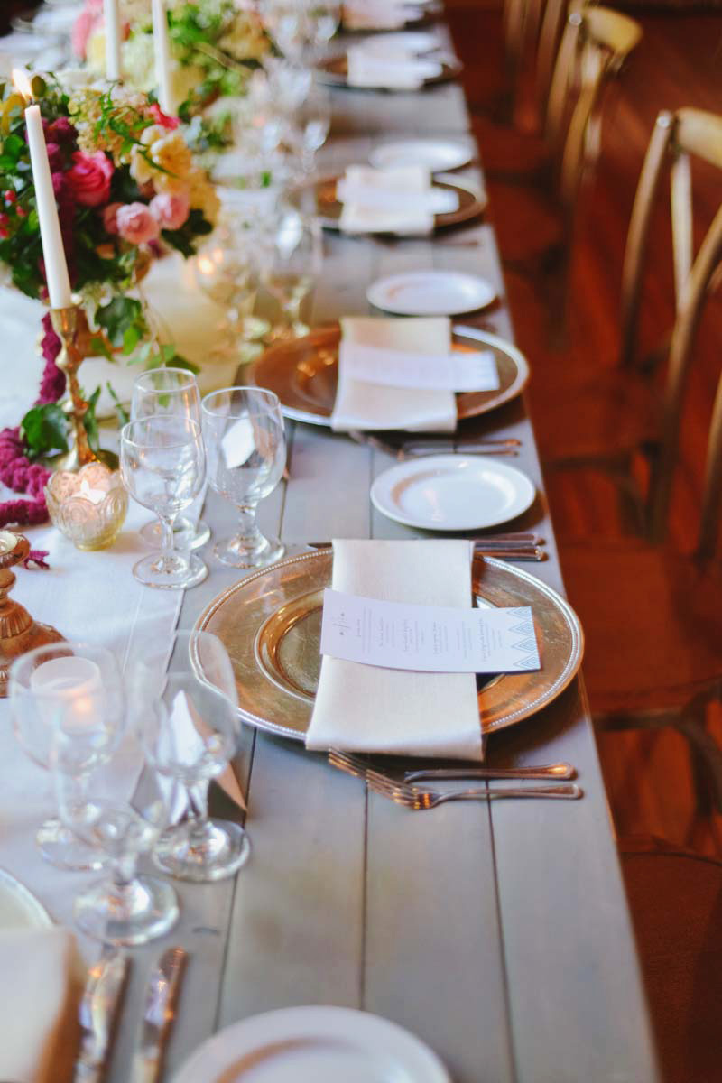 Tribal Glam Wedding at Sundance Photographed by Rebekah Westover | Michelle Leo Events | Utah Wedding Design and Coordination