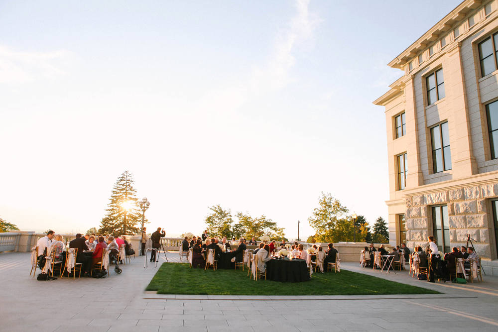 Utah State Capitol Building Wedding | Design and Planning by Michelle Leo Events | Jacque Lynn Photography
