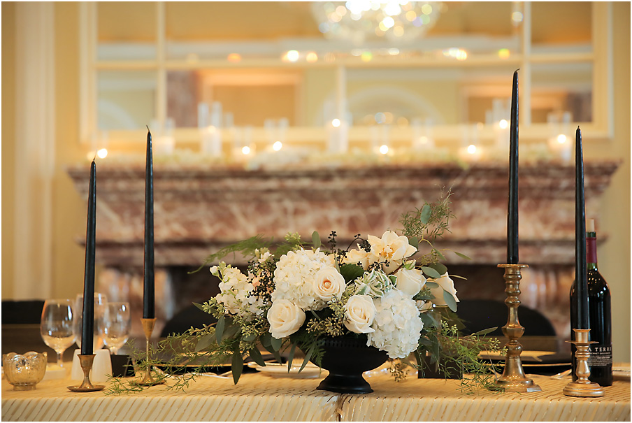 Wedding at Grand America's beautiful Grand Salon | Michelle Leo Events | Pepper Nix