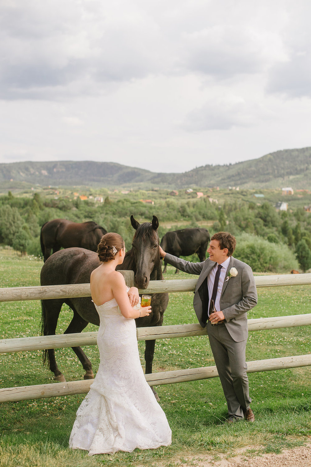 Rustic Chic Red Cliff Ranch Wedding Designed and Planned by Michelle Leo Events | Heather Nan Photography