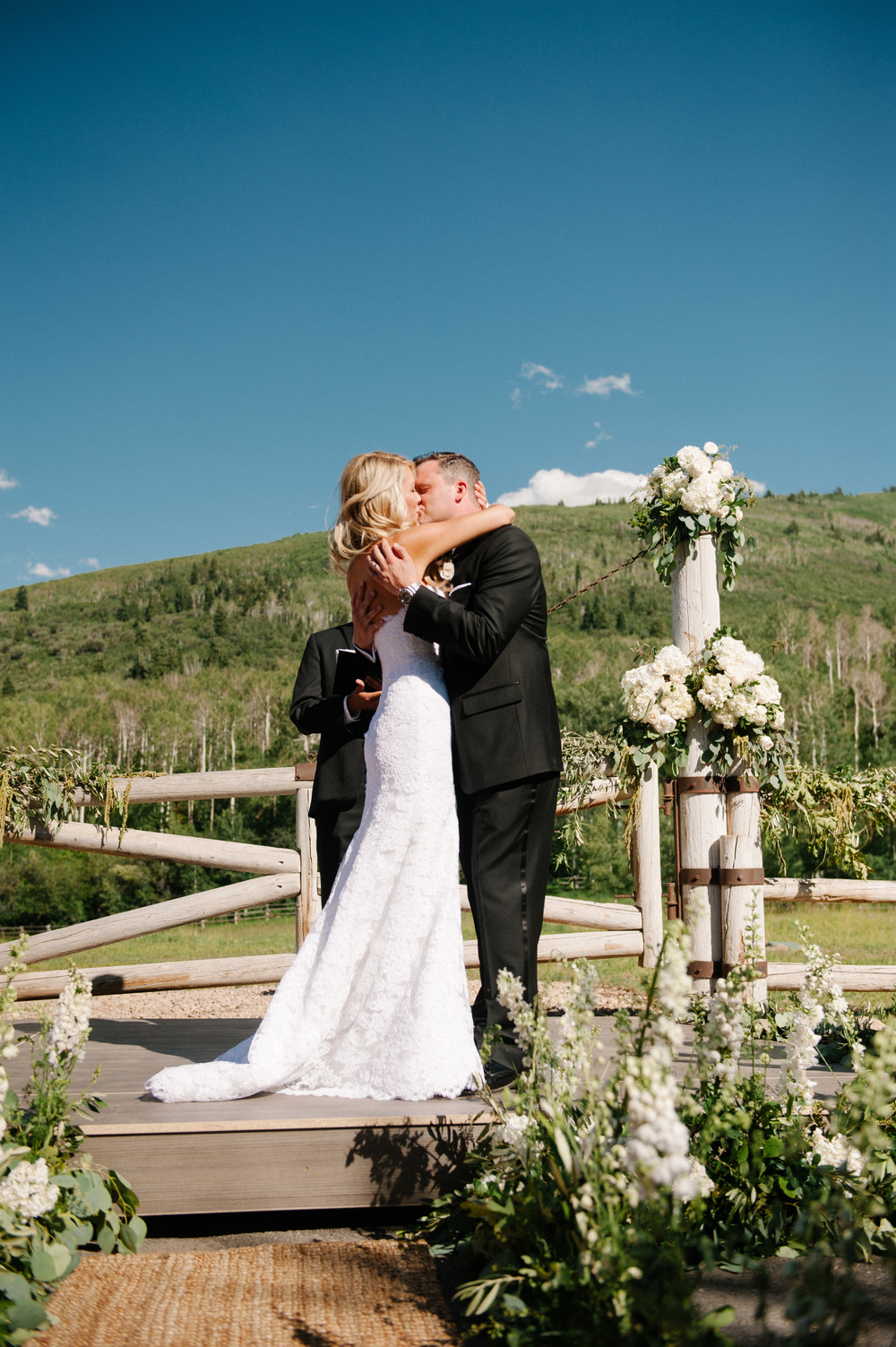 Elegant Utah Ranch Wedding Designed and Planned by Michelle Leo Events | Brooke Schultz Photography