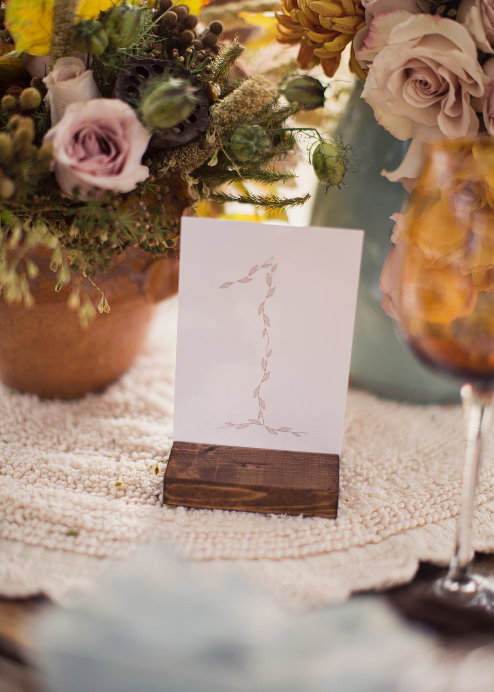 Bohemian Autumn Wedding Inspiration | Fall Wedding Inspiration | Bohemian Wedding Inspiration | Michelle Leo Events | Utah Event Planner and Designer | Alixann Loosle Photography